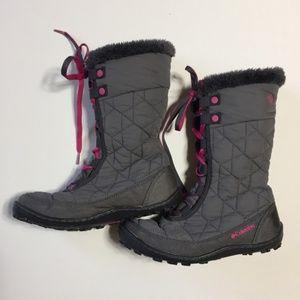 Columbia Girls Snow Boots